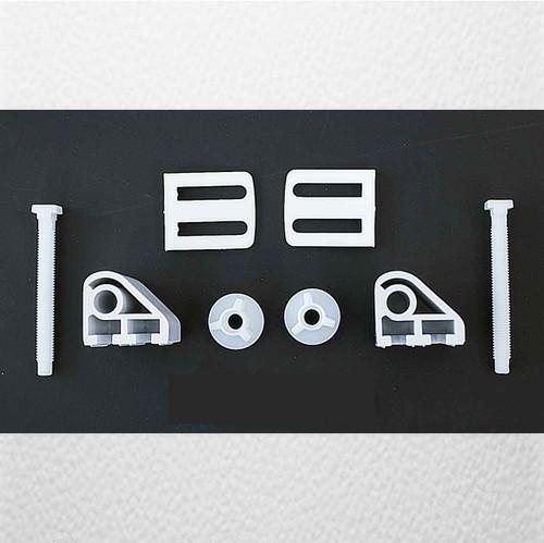 Ideal Standard E988101 Standard Seat Hinges - White FTB1723 5055639194151