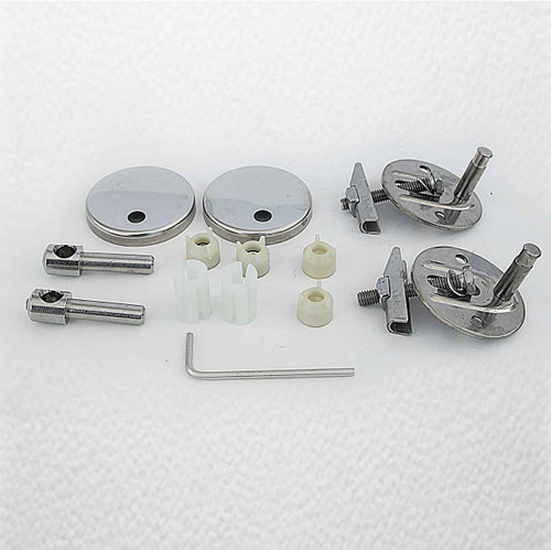 Ideal Standard Ev286Aa Concept Seat And Cover Hinge Set Normal Close FTB3529 5055639195073