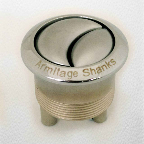 Armitage Shanks S4448AA Push Button Replacement button Chrome FTB144 5055639139343