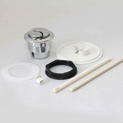 Sottini Palazzo Button Dual Flush - Long Ratchet FTB3813 5055639190566