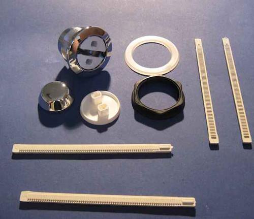 Ideal Standard SV695AA Unbranded - Raised push button single flush - Long Ratchet FTB4166 5055639189638