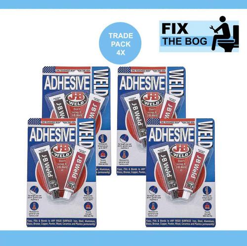 Trade Pack 4 x J-B Weld Dark Grey Original FTB2919 5055639188969
