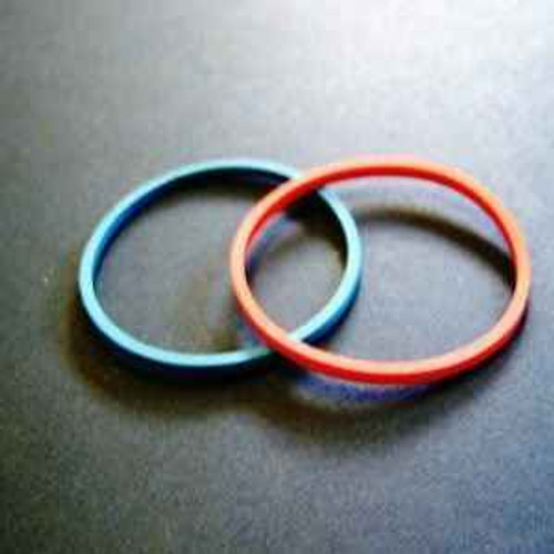 Ideal Standard A963167NU Dallas Indice Rings Blue and Red Pair FTB4368 5055639184367