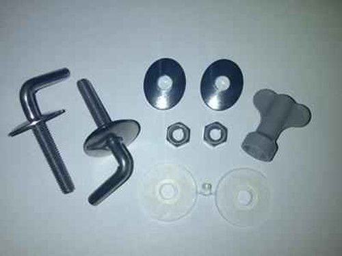 Ideal Standard E7597AA Alto Seat and Cover Hinge Set Normal Close FTB4412 5055639184800