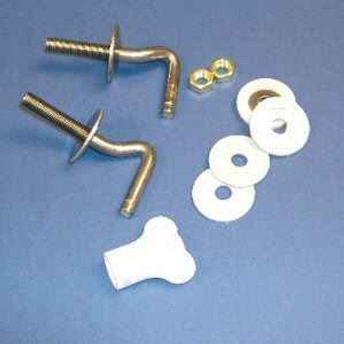 Ideal Standard E963067 Universal Seat And Cover Hinge Set FTB4479 5055639185470