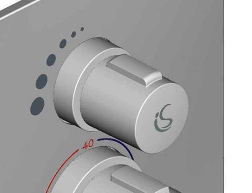 Ideal Standard F960914Aa Easybox Flow Control Handle FTB4524 5055639185920