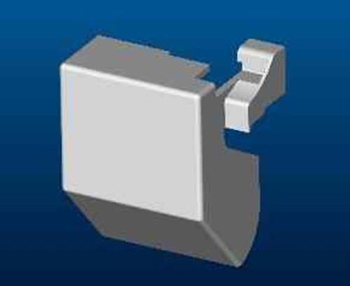 Ideal Standard Lv839Aa Synergy 1200 Pivot F/Pnl Lh Cvr Mldg FTB4559 5055639186279