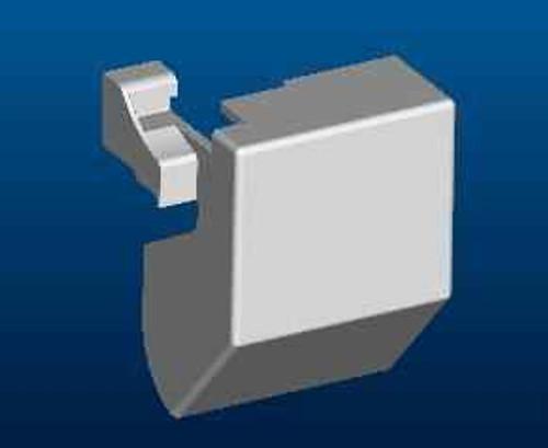 Ideal Standard Lv840Aa Synergy 1200 Pivot F/Pnl Rh Cvr Mldg FTB4560 5055639186286