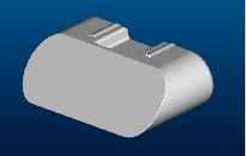Ideal Standard Lv857Aa Synergy Rail Pivot Block Cover Mldg FTB4575 5055639186439