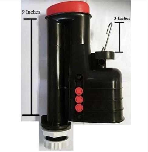 Ideal Standard SV92567 Universal Fluidmaster 9 Inch Lever Syphon Kit FTB4767 5055639188358