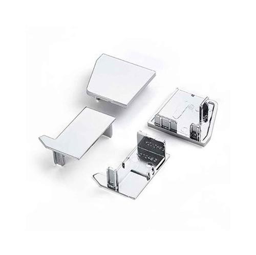 Ideal Standard T001230Eo Kubo Bi-Fold Plastic Cover Caps Pack FTB4787 5055639188556