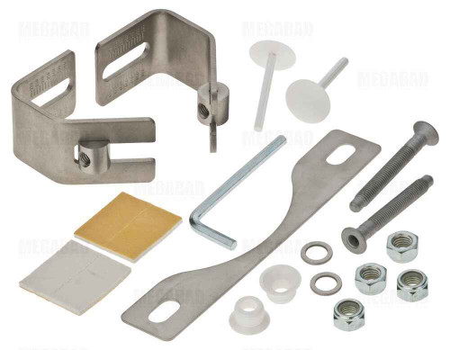 Ideal Standard T601001 Pan / Bidet Wall Mounting Fixing Kit Bracket Size Adjustment 220 -280mm FTB4823 5055639188914