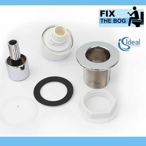 Ideal Standard S4463AA Pneumatic plastic palm push button FTB4206 5055639189232