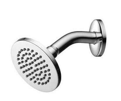 Ideal Standard B9436AA Idealrain Rain Shower Head with Angled Arm Small 100mm Diameter FTB4840 5055639183131