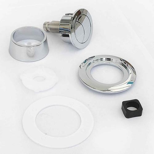 Viva Replacement Dual Flush Chrome Push Button for Skylo Flush Valves UNI/SB FTB4237 5060262730867