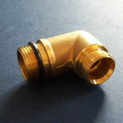 Ideal Standard S961126NU Elbow with check valve insert self coloured FTB4679 5055639187474
