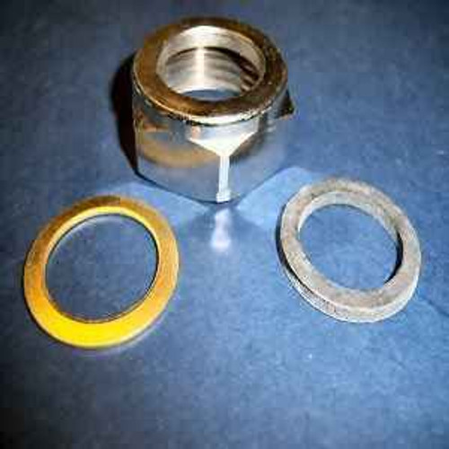 Ideal Standard SV359AA Capnut 1 BSP with brass and rubber - Chrome FTB4739 5055639188075