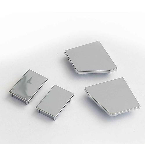 Ideal Standard T001096Nu Plastic Cover Caps For Kubo A / Sliding Doors FTB4771 5055639188396