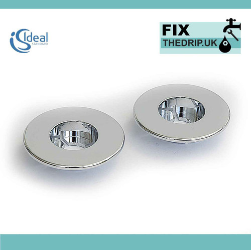 Ideal Standard A962587Aa Escutcheon Itv Pair Chrome FTB4352 5055639184206