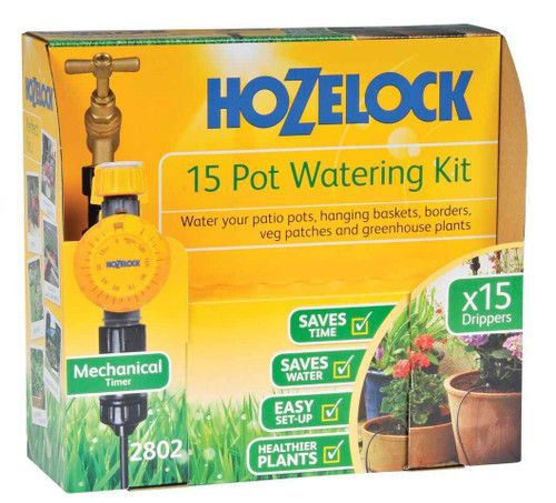 Hozelock 2802 0000 15 POT WATERING KIT FTB5200 5010646057592