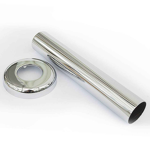 Ideal Standard S8907AA Waste/Trap 1 1/4 extension to wall multi purpose outlet - Chrome FTB4626 5055639186941