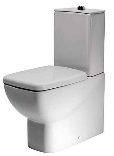 Sottini Delineo toilet seat and cover slow close T629801 FTB5211 5055639179653