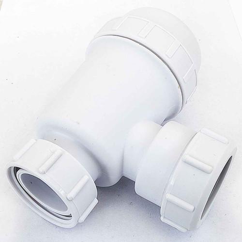 Viva WTBT3238 EASI-FLO Bottle Trap 38mm Seal for Basins, Sinks & Bidets 32mm 1 1/4 inch FTB5224 5060262731154