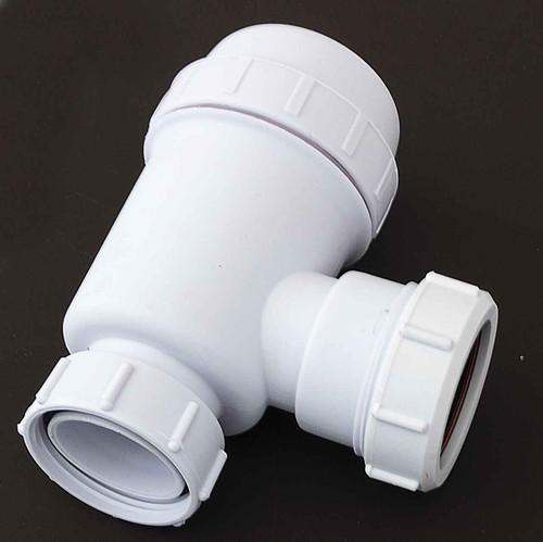 Viva WTBT4038 EASI-FLO Bottle Trap 38mm Seal for Basins, Sinks & Bidets 40mm/1 1/2 inch FTB5225 5060262731161
