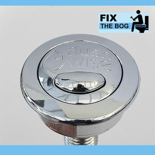 CF1030CP Twyford Flushwise Cistern Flush Toilet Cistern Push Button FTB2051 5024959151694