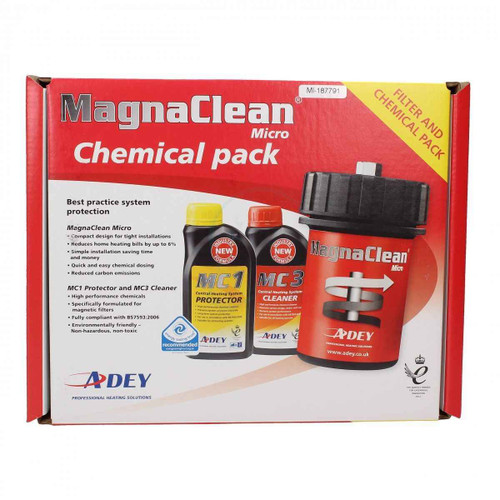 MagnaClean Micro Central Heating Chemical Filter kit MICRO1C FL1-03-01867 FTB5320 5060106370945