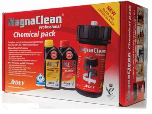 MagnaClean Pro 1 Filter Chemical Pack MC1 and MC3 FL1-03-01868 FTB5318 5060106370952