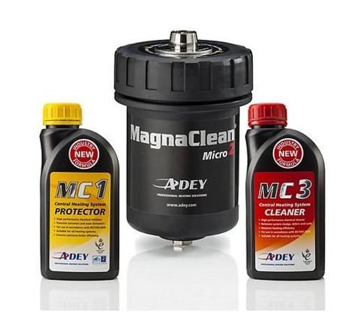 MagnaClean Central Heating Chemical kit Black Filter, MC1 and MC3 MICRO2C FTB5309 5060106370570