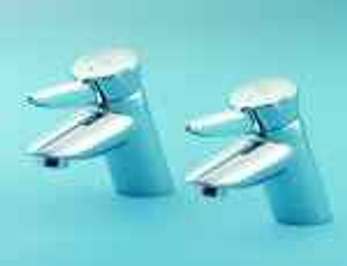 Armitage Shanks Nuastyle_Basin pair 2 original Tap cartridges pair 1 x red, 1 x blue 1/2 x 18 x 57mm stem narrow S960025NU FTB7067 5055639178687