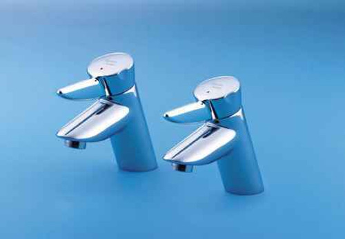 Armitage Shanks Nuastyle_Bath pair 2 compatible Tap cartridges Pair 1 x red, 1 x blue 1/2 x 18 x 57mm stem narrow S960025NU FTB7070 5055639178656