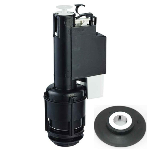 FixTheBog Replacement Seal and Clip for Ideal Standard Dual Flush SV92667 with instructions FTB6932 5055639173668