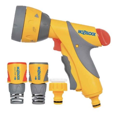 Hozelock 2351 Multi Spray Plus Gun and Fittings 2351P9016 FTB6003 5010646056243