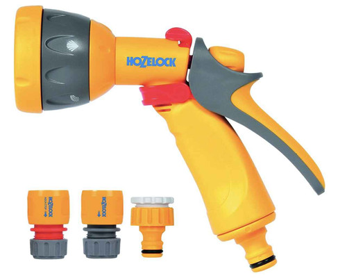Hozelock 2347 9019 Hozelock Multi Spray Watering Gun Starter Set FTB6006 5010646051101