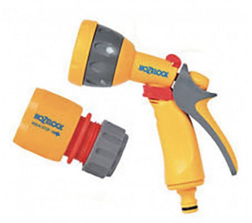 Hozelock 2676 Multispray Gun with 2185 Waterstop FTB6028 5010646048637