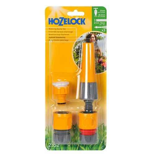 Hozelock 2352P9016 Nozzle and Fittings Starter Set FTB6033