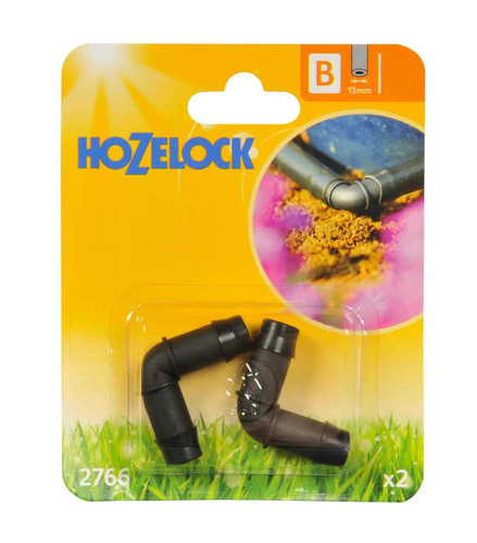 Hozelock 2766 13mm Elbow Connector FTB6066 5010646040204