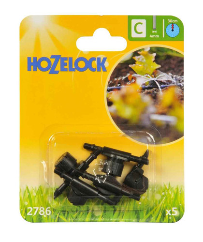 Hozelock 2786 In Line Adjustable Mini Sprinkler FTB6105 5010646040464