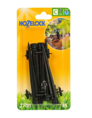 Hozelock 2788 End of Line Adjustable Mini Sprinkler on Stake FTB6107 5010646040501