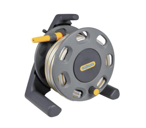 Hozelock 2412 Compact Reel25m MP and Nozzle FTB6116 5010646033596