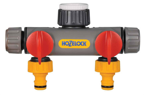 Hozelock 2252 2 Way Tap Connector FTB6087 5010646058018