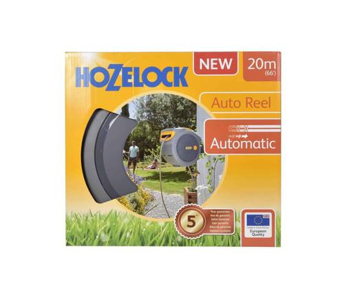 Hozelock 2401 Auto Reel Retractable Hose System 20m Hose FTB6072 5010646059541