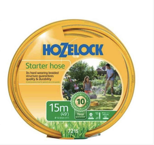 Hozelock 7215 15m Starter Hose FTB6135 5010646053167