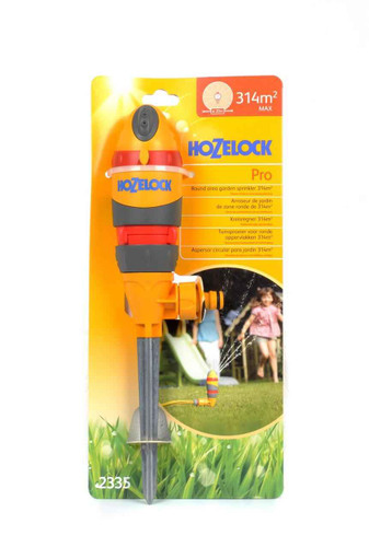 Hozelock 2335 Round Sprinkler Pro 314 Sq m 2n1 FTB6141 5010646042802