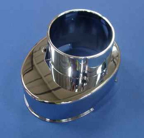 Trevi A923712Aa Ctv Bottom Inlet Shroud Chrome Chrome Finish FTB11344 5055639157736