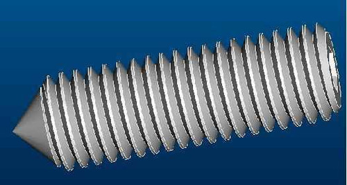 Ideal Standard T001328Nu M5 X 18Mm Long Grub Screw Pointed FTB10103 5055639145320