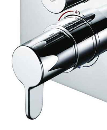 Ideal Standard A860949Aa Easybox Slim Temperature Control Handle Chrome Finish FTB10598 5055639150270